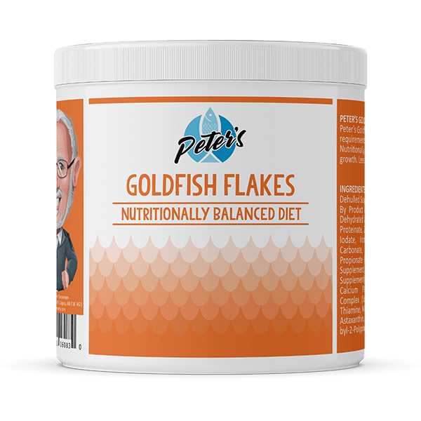 Peter's Goldfish Flakes - Available in Multiple Sizes | Pisces Pets