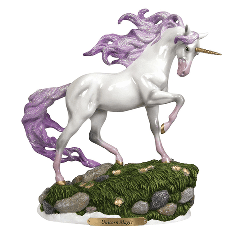 Painted Ponies Figurine - Unicorn Magic | Pisces Pets