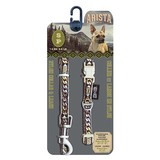 Arista Bluegrass Collar & Leash Set - Available in 3 Sizes | Pisces Pets