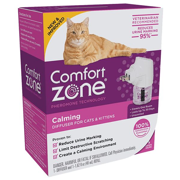 Comfort Zone Calming Diffuser for Cats & Kittens | Pisces Pets