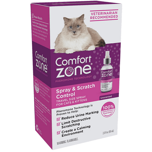 Comfort Zone Spray & Scratch Control Spray for Cats & Kittens | Pisces Pets