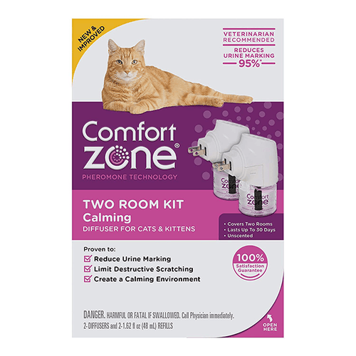 Comfort Zone Calming Diffuser for Cats & Kittens - Two Room Kit | Pisces Pets