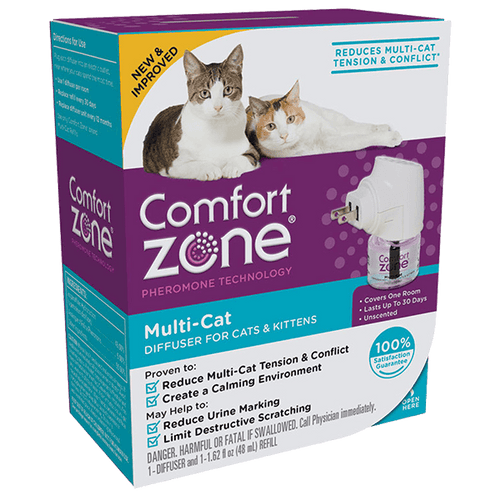 Comfort Zone Multi-Cat Diffuser for Cats & Kittens | Pisces Pets