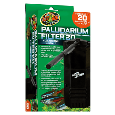 Zoo Med Paludarium Filter - 20 Gallon