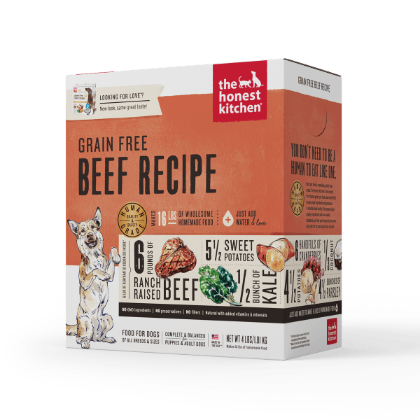 Honest Kitchen Dehydrated Grain Free Beef Recipe - 1.81 kg | Pisces Pets