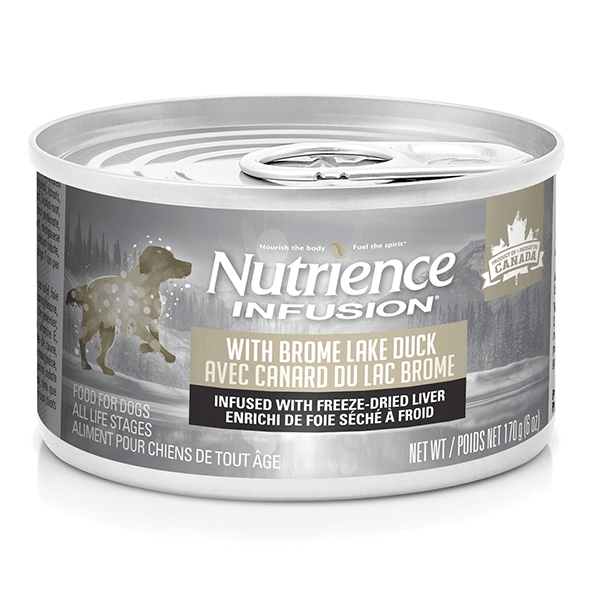 Nutrience Infusion Pate with Brome Lake Duck - 170 g | Pisces Pets