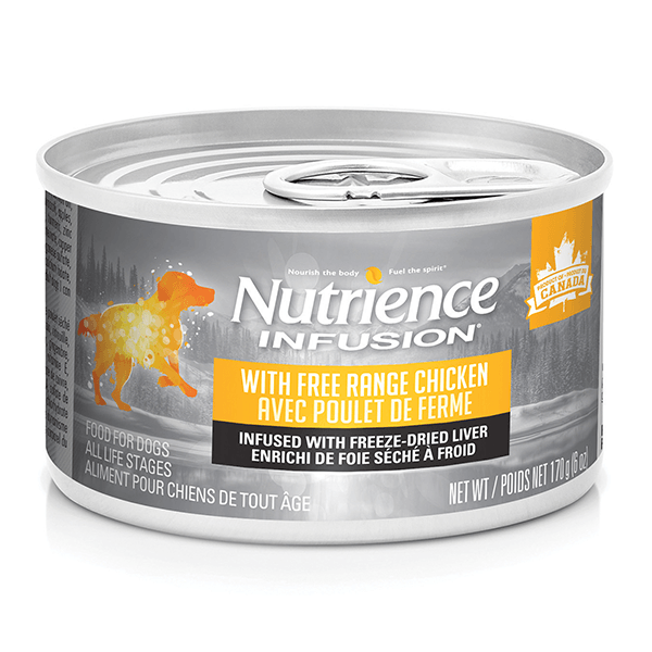 Nutrience Infusion Pate with Free Range Chicken - 170 g | Pisces Pets