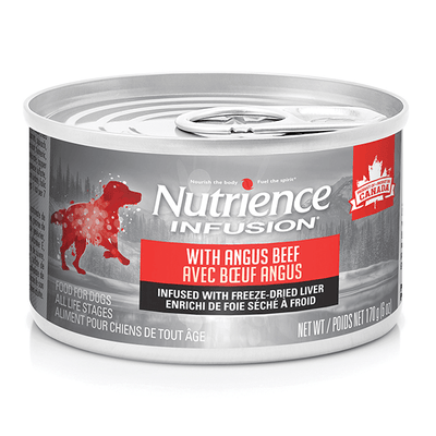 Nutrience Infusion Pate with Angus Beef - 170 g | Pisces Pets
