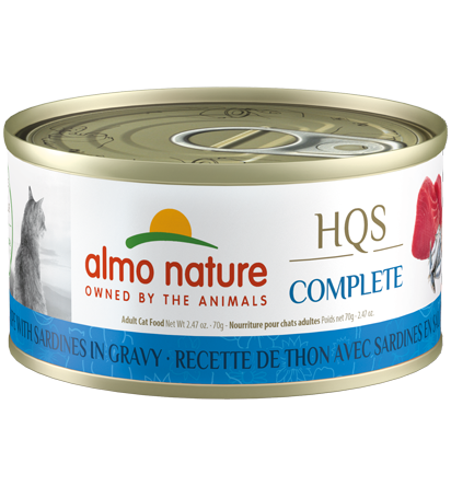 Almo Nature Complete Tuna Recipe with Sardines 70g | Pisces Pets