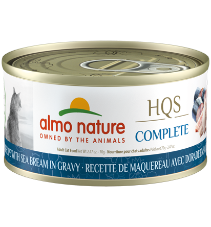 Almo Nature Complete Mackerel Recipe with Sea Bream 70g | Pisces Pets