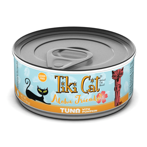 Tiki Cat Aloha Friends Tuna with Pumpkin - 85 g | Pisces Pets