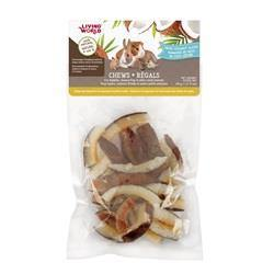 Living World Small Animal Chews - Dried Coconut Chips 45g