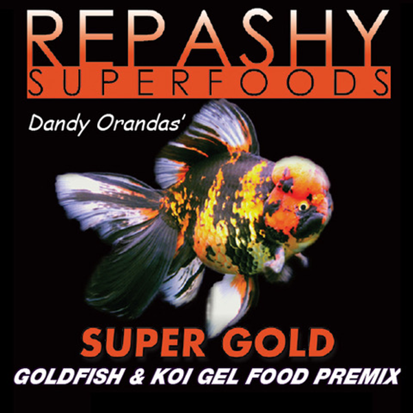 Repashy Super Gold Goldfish & Koi Gel Food Premix - 85 g | Pisces Pets