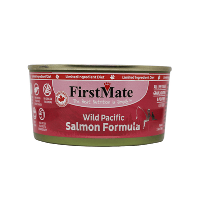First Mate Limited Ingredient Wild Pacific Salmon Formula - 156 g | Pisces Pets