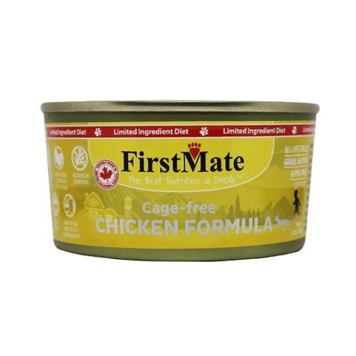 First Mate Limited Ingredient Chicken Formula - 156 g | Pisces Pets