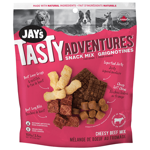 Jay's Tasty Adventures Snack Mix - Cheesy Beef Mix | Pisces Pets