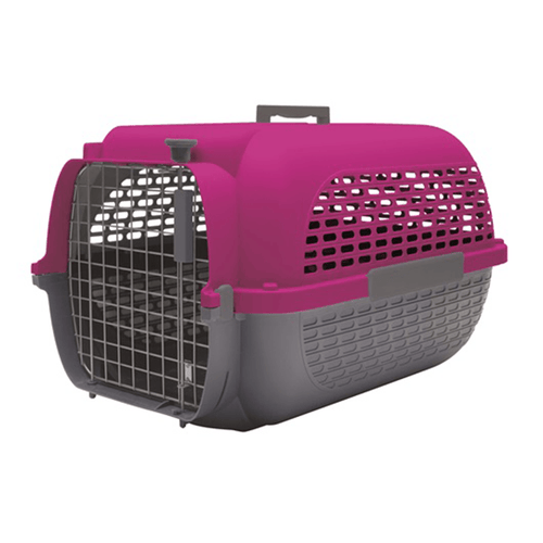 Dogit Voyageur Carrier - Fuchsia/Charcoal | Pisces Pets