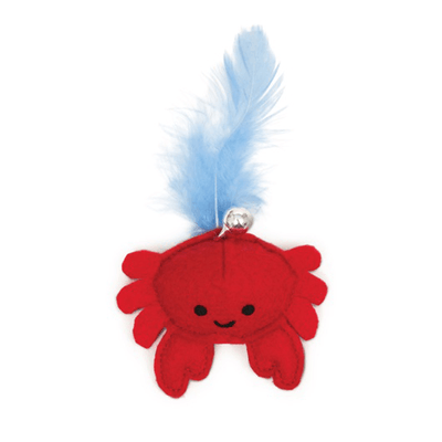 Catit Play Pirates Catnip Toys - Plush Crab | Pisces Pets