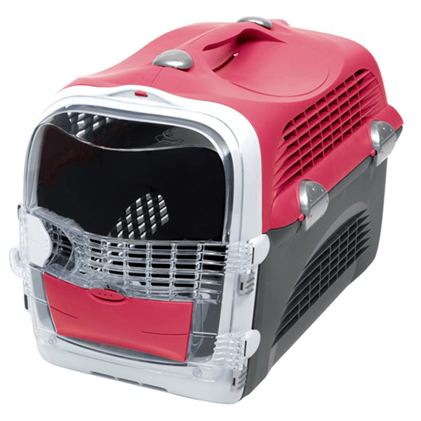 Catit 2.0 Cabrio Carrier - Cherry Red | Pisces Pets
