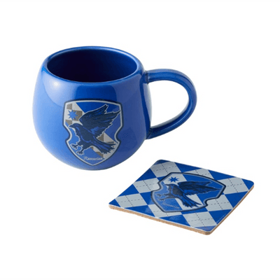 Harry Potter Raven Claw Crest Mug with Coaster | Pisces Pets