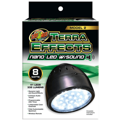 Zoo Med Terra Effects Nano LED with Sounds Model 2 | Pisces Pets
