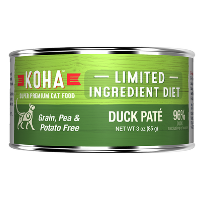 Koha Cat Limited Ingredient Duck Pate - 85 g | Pisces Pets