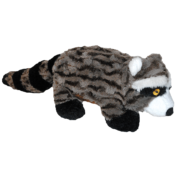 Patchwork Pet Swirl Racoon - Available in 2 Sizes | Pisces Pets