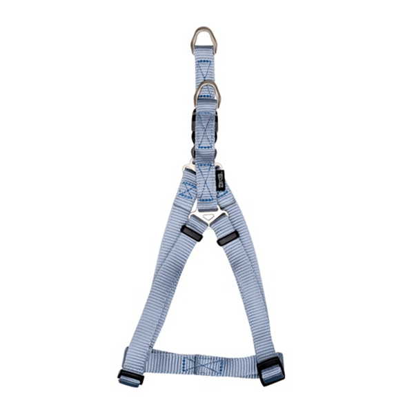 Zeus Baby Blue Nylon Step-In Harness - Available in 2 Sizes | Pisces Pets