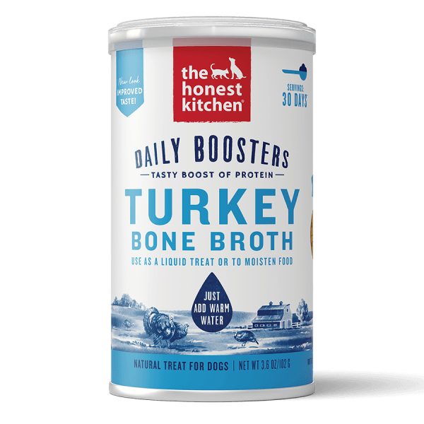 Honest Kitchen Instant Bone Broth Turkey & Turmeric - 102 g | Pisces Pets