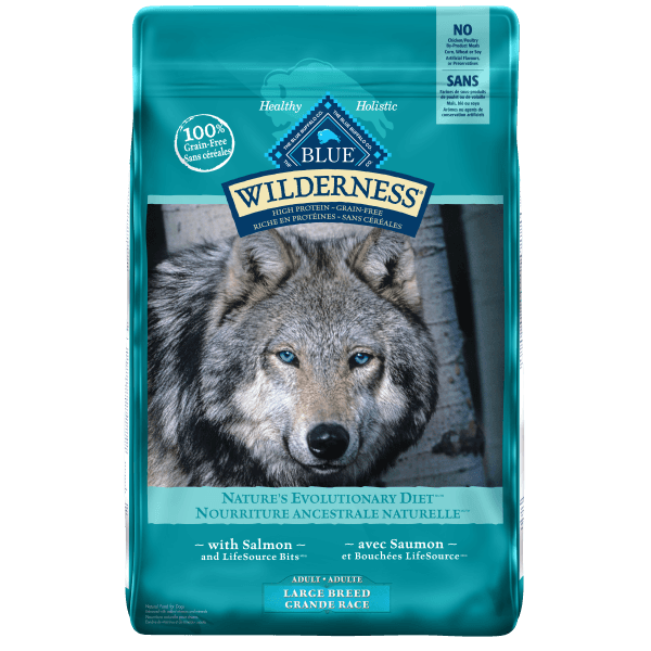 Blue Wilderness Salmon Large Breed Dog Food - 10.8 kg | Pisces Pets