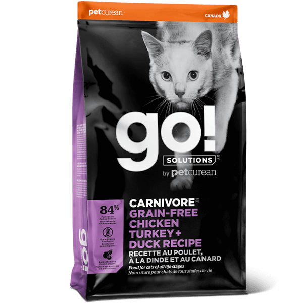 go! Carnivore Grain Free Chicken, Turkey + Duck Cat Food | Pisces Pets