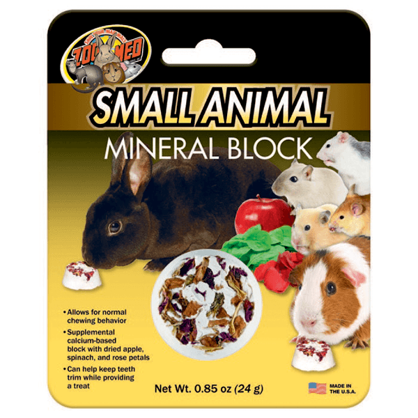 Zoo Med Small Animal Mineral Block | Pisces Pets