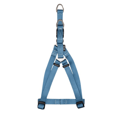 Zeus Denim Blue Nylon Step-In Harness - Available in 4 Sizes | Pisces Pets