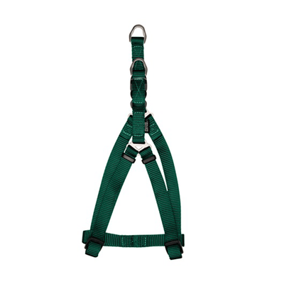 Zeus Forest Green Nylon Step-In Harness - Available in 4 Sizes | Pisces Pets