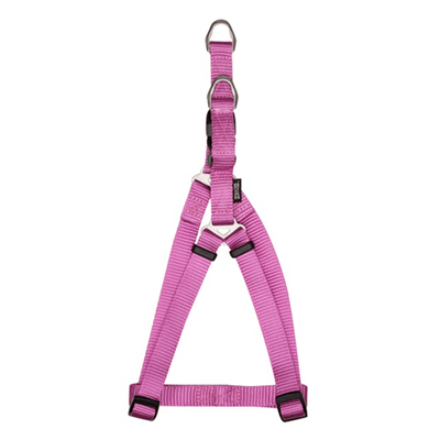 Zeus Fuchsia Nylon Step-In Harness - Available in 4 Sizes | Pisces Pets