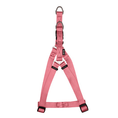 Zeus Salmon Nylon Step-In Harness - Available in 2 Sizes | Pisces Pets