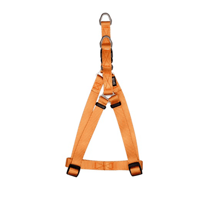 Zeus Tangerine Nylon Step-In Harness - Available in 2 Sizes | Pisces Pets