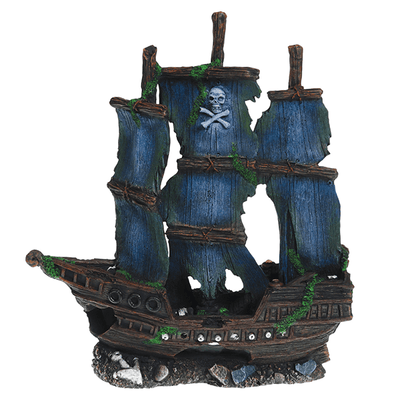 Underwater Treasures Pirate Ship | Pisces Pets