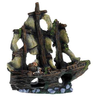 Underwater Treasures Treasure Ship | Pisces Pets
