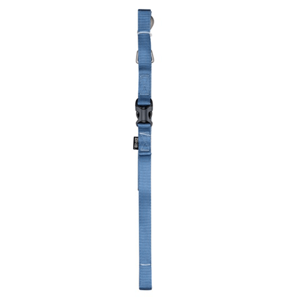 Zeus Denim Blue 1.8m Nylon Leash - Available in 2 Sizes | Pisces Pets