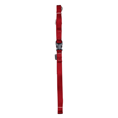 Zeus Deep Red 1.2m Nylon Leash - Available in 4 Sizes | Pisces Pets