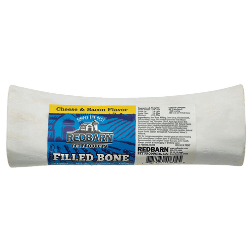 Red Barn Natural Filled Bone - Cheese & Bacon | Pisces Pets