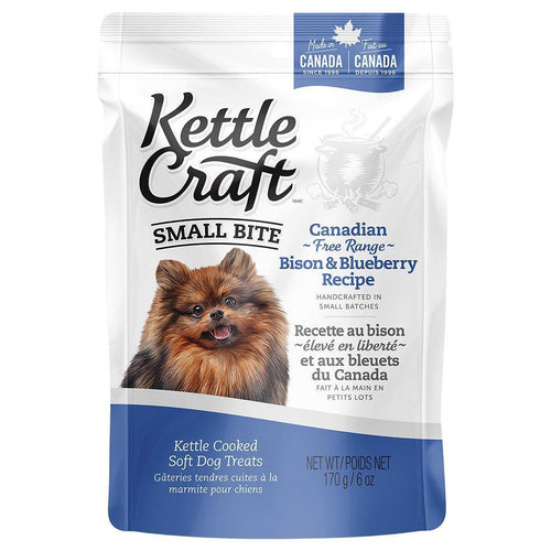 Kettle Craft Canadian Bison & Blueberry Small-170g