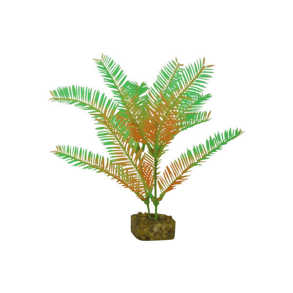 Tetra GloFish Medium Green/Orange Plant | Pisces Pets