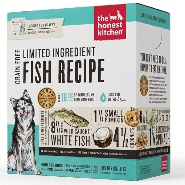 Honest Kitchen Hydrated Limited Ingredient Fish Recipe - 1.81 kg | Pisces Pets