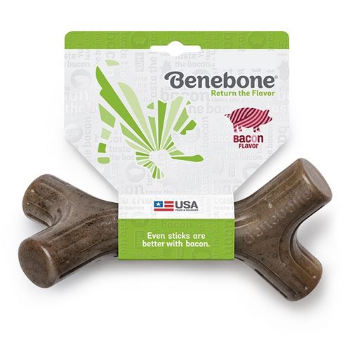 Benebone Bacon Stick - Available in 3 Sizes | Pisces Pets