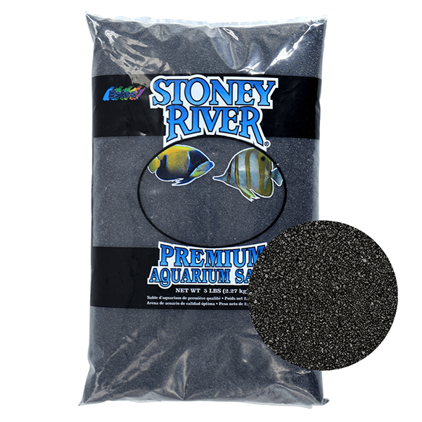 Stoney River Aquarium Sand - Black | Pisces Pets