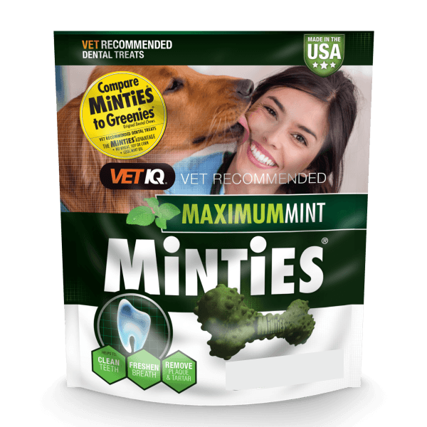 Minties Maximum Mint Dental Bones | Pisces Pets