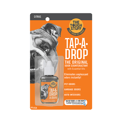 Tough Stuff Tap-A-Drop Citrus Air Freshner - 148 ml | Pisces Pets
