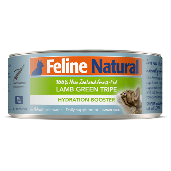 Feline Natural Lamb Green Tripe Hydration Booster Supplement - 85 g | Pisces Pets